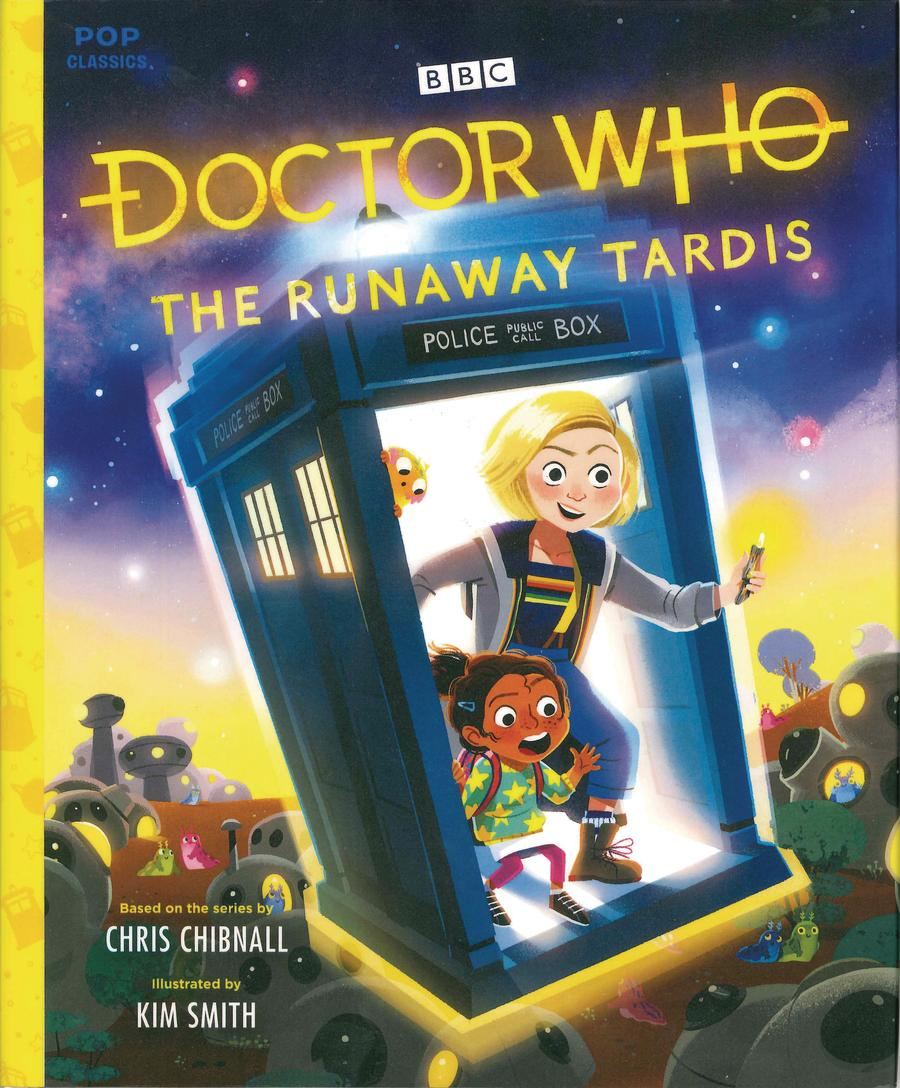 Doctor Who Runaway TARDIS Pop Classic Illustrated Storybook HC