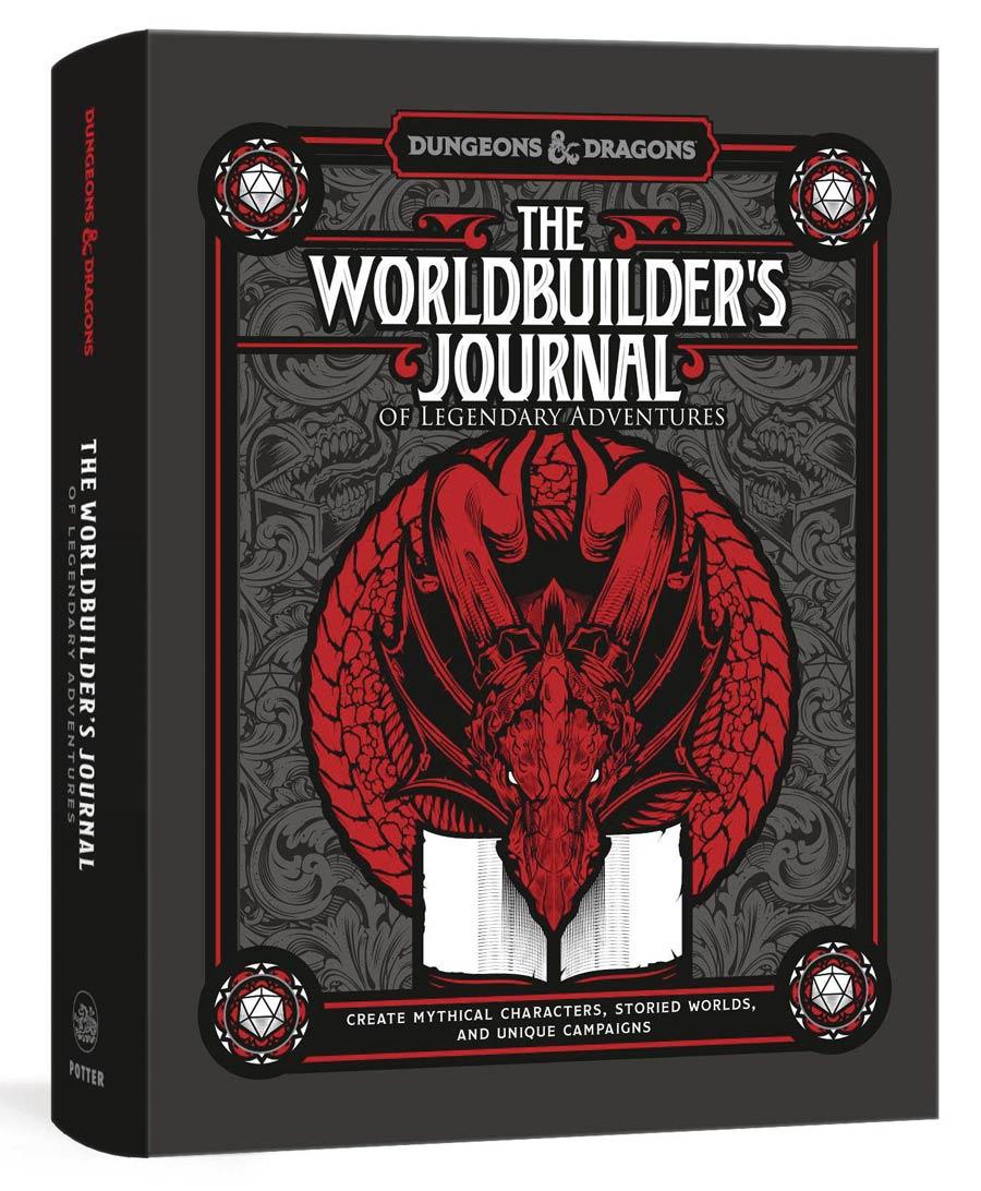 Dungeons & Dragons Worldbuilders Journal Of Legendary Adventures SC