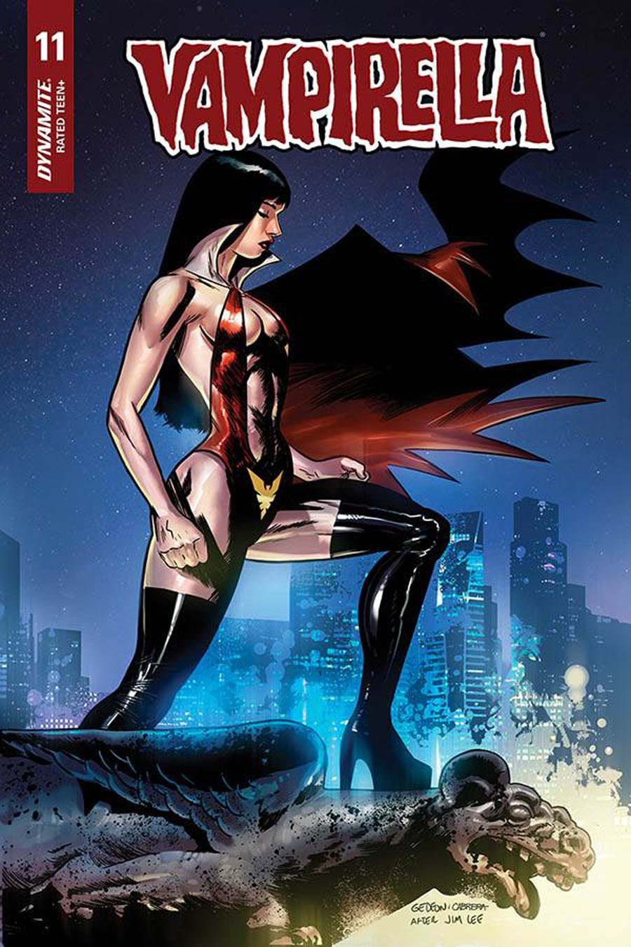 Vampirella Vol 8 #11 Cover H Incentive Juan Gedeon Jim Lee Homage Variant Cover