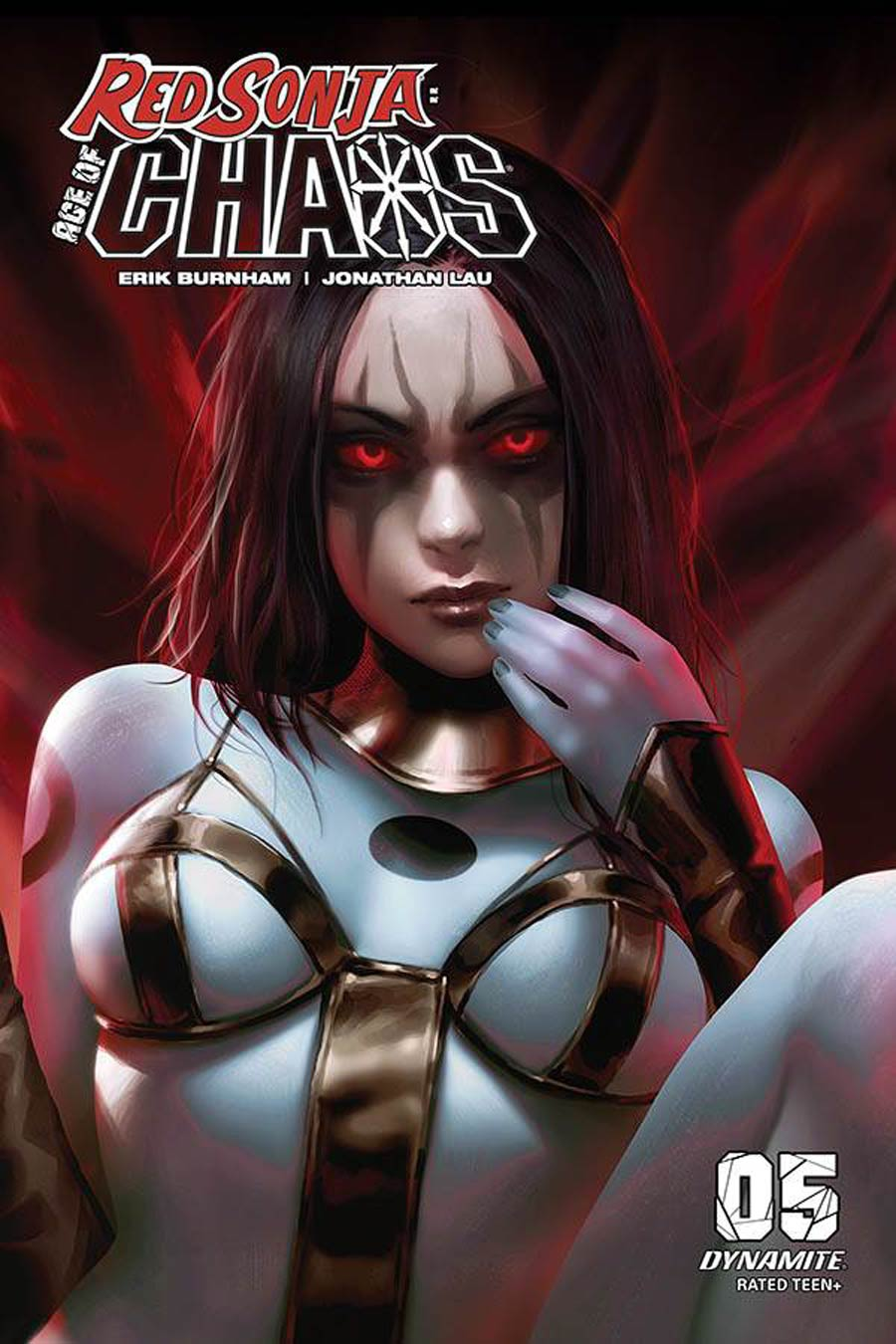 Red Sonja Age Of Chaos #5 Cover I Incentive Derrick Chew Sneak Peek Color Variant Cover