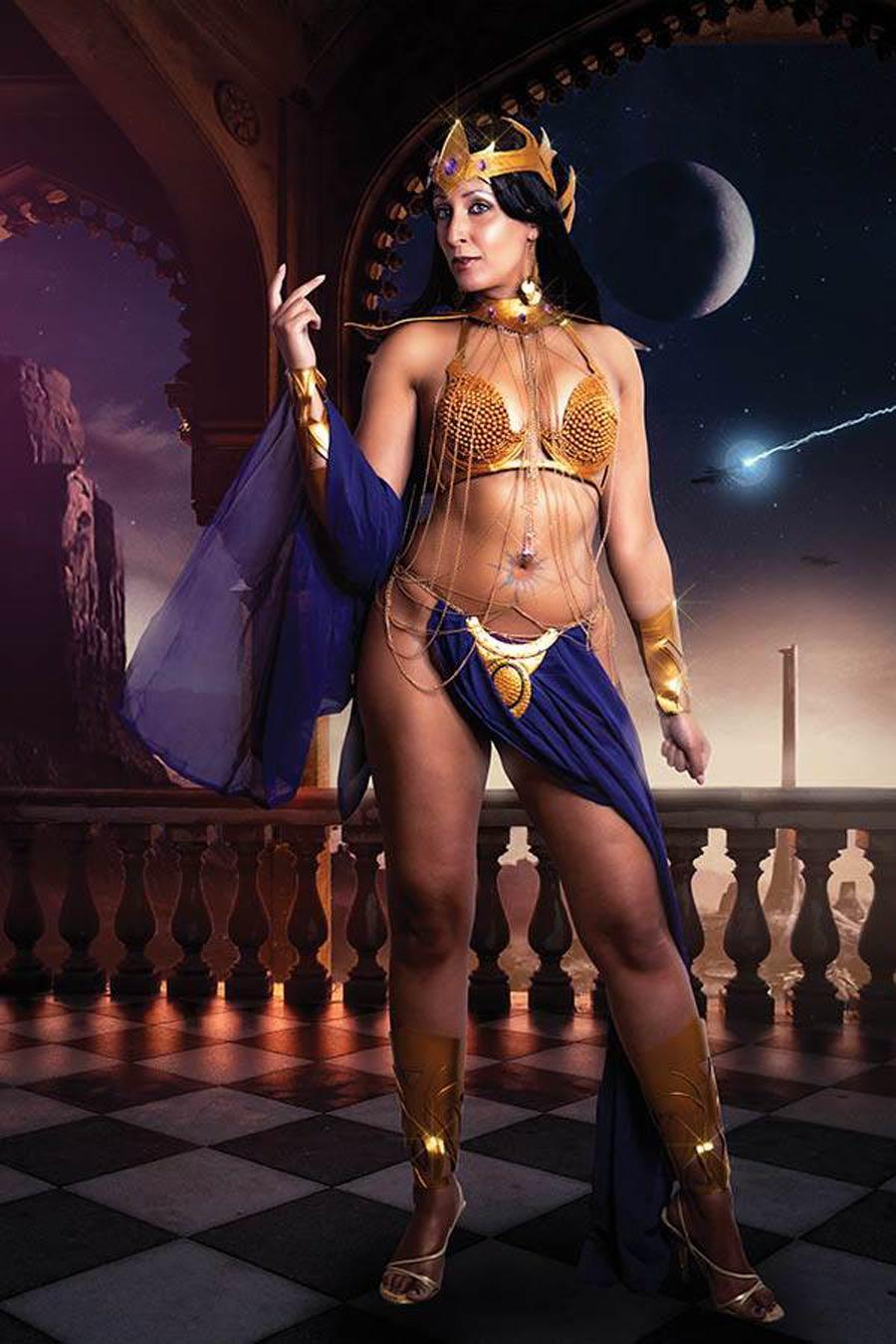 Dejah Thoris Vol 3 #6 Cover O Incentive Tasha Cosplay UK Photo Virgin Cover