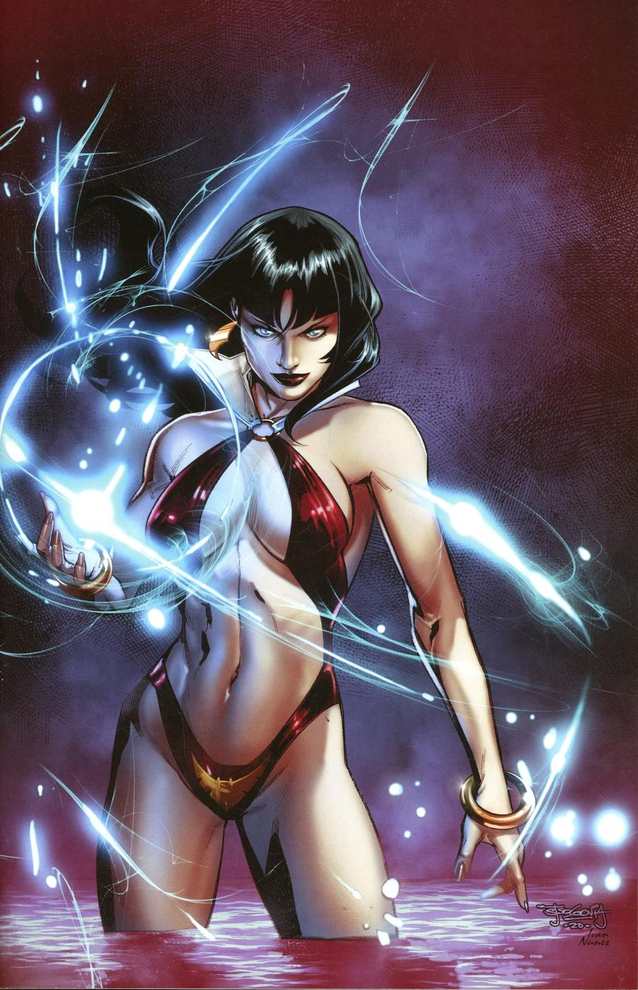 Vengeance Of Vampirella Vol 2 #8 Cover I Incentive Stephen Segovia Virgin Cover