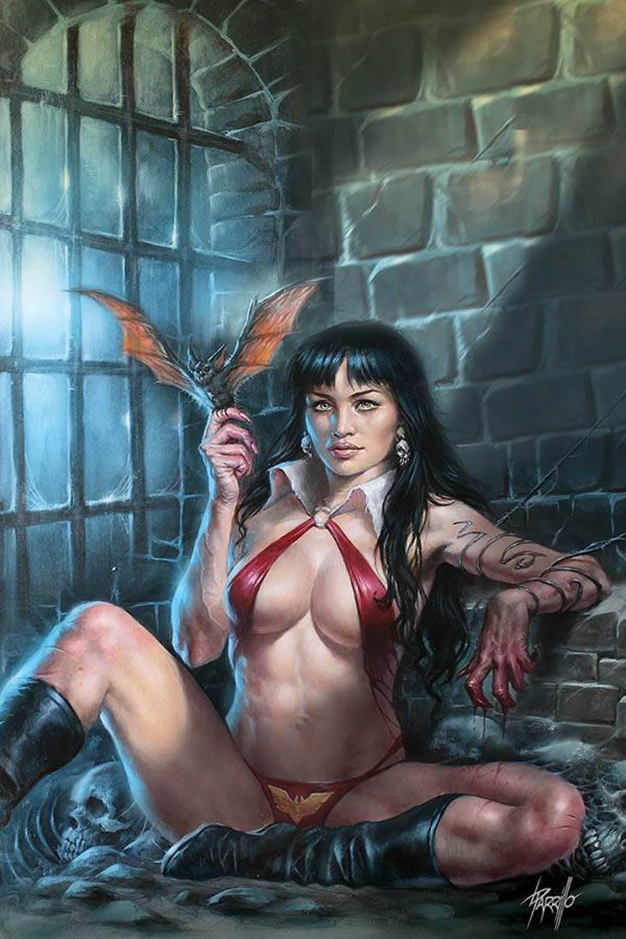 Vampirella Vol 8 #11 Cover U Limited Edition Lucio Parrillo Virgin Cover