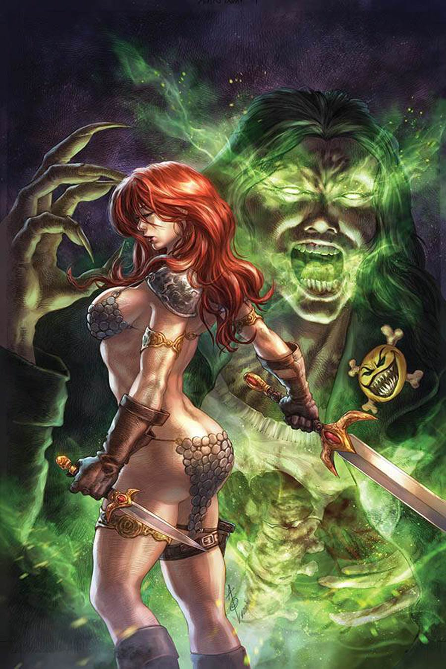 Red Sonja Age Of Chaos #5 Cover U Limited Edition Alan Quah Virgin Cover