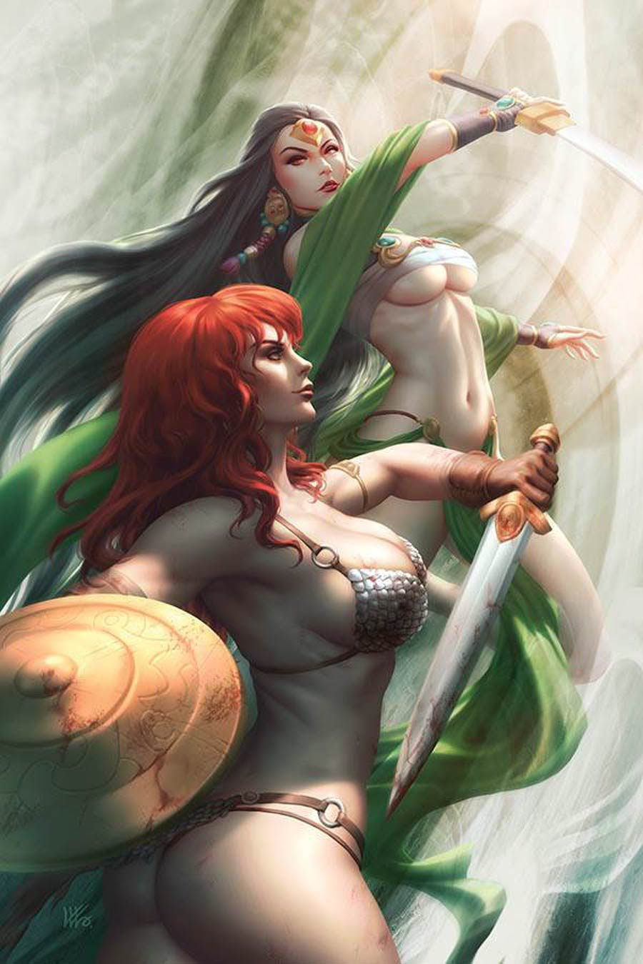 Red Sonja Age Of Chaos #5 Cover W Limited Edition Kunkka Virgin Cover