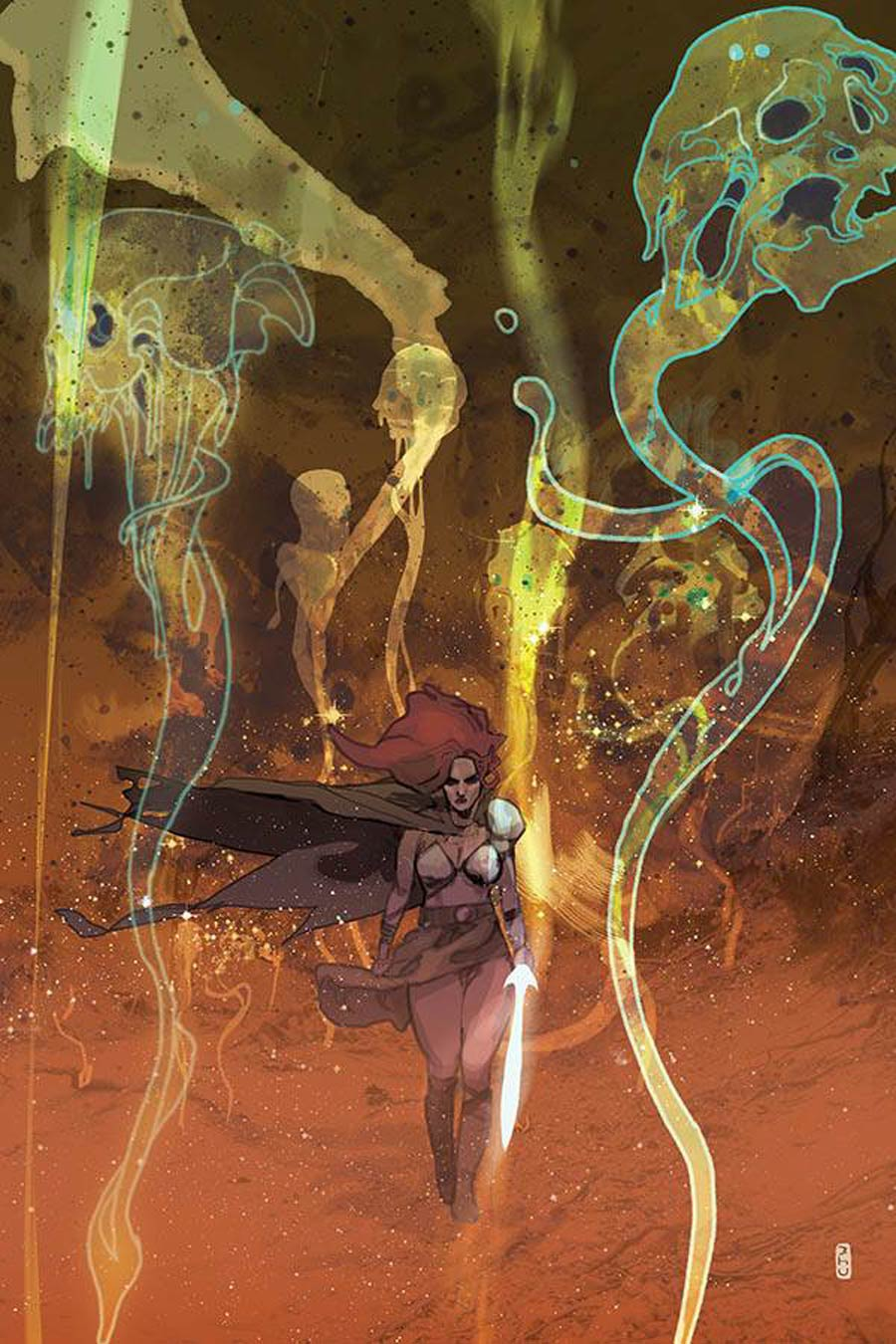 Killing Red Sonja #3 Cover K Limited Edition Christian Ward Virgin Cover