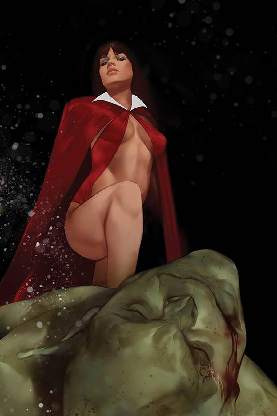 Vengeance Of Vampirella Vol 2 #8 Cover N Limited Edition Ben Oliver Virgin Cover
