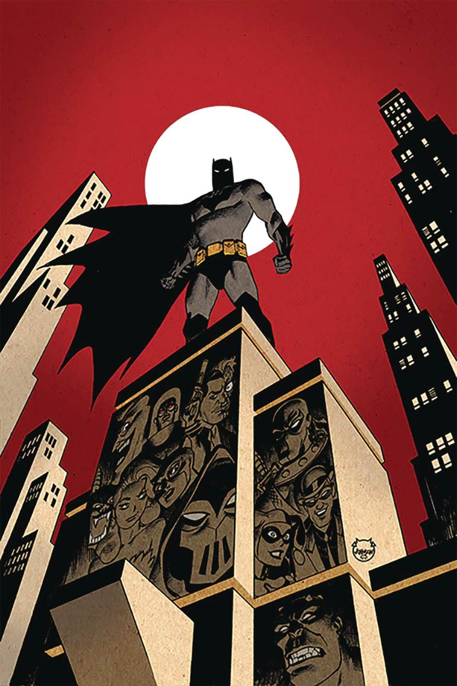 Batman The Adventures Continue #1 Cover D DF Signed By Dave Johnson