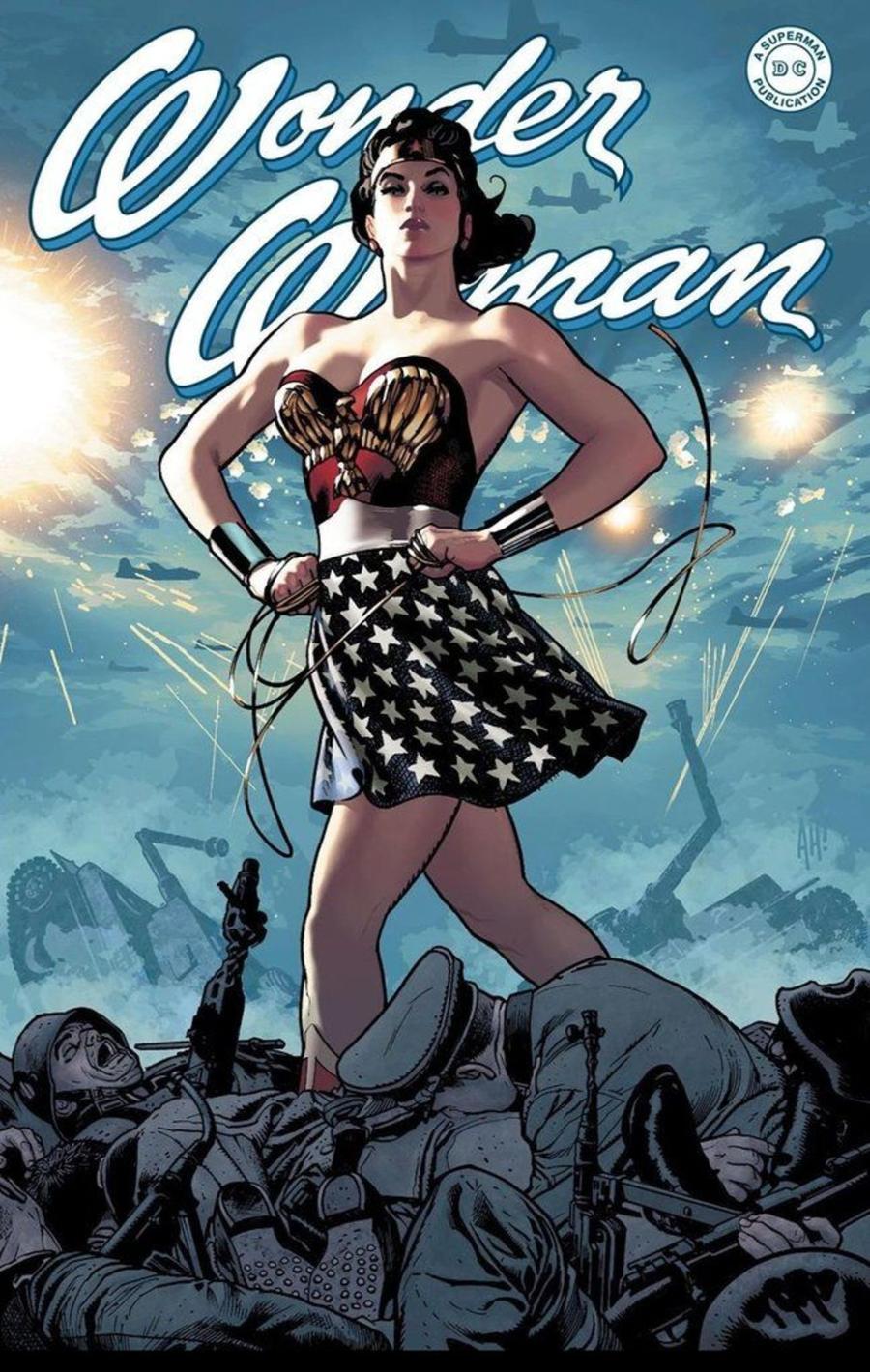 Wonder Woman Vol 5 #750 Cover L DF Exclusive Adam Hughes WW2 Variant Cover