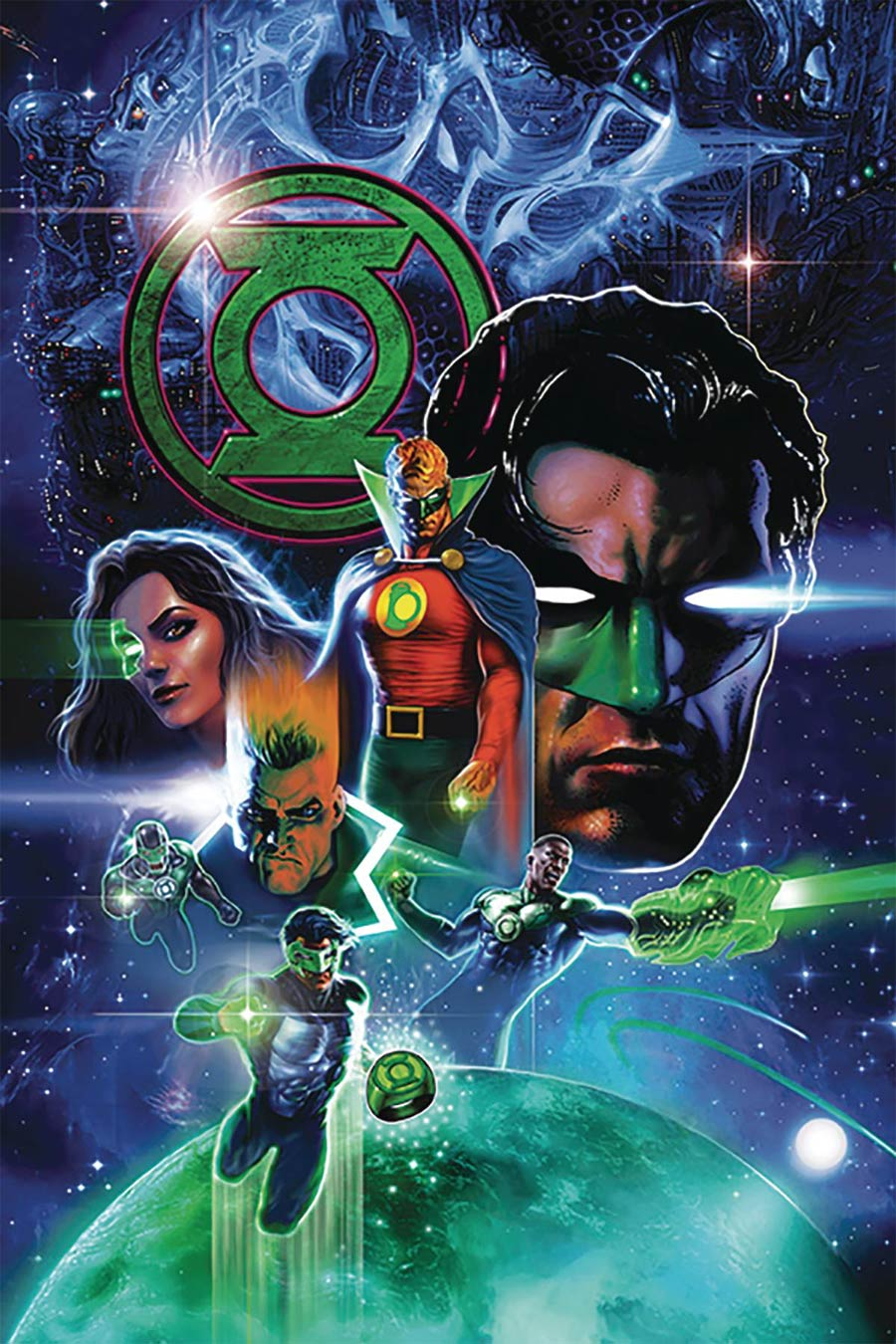 Green Lantern 80th Anniversary 100-Page Super Spectacular #1 Cover K DF Signed By Peter Tomasi