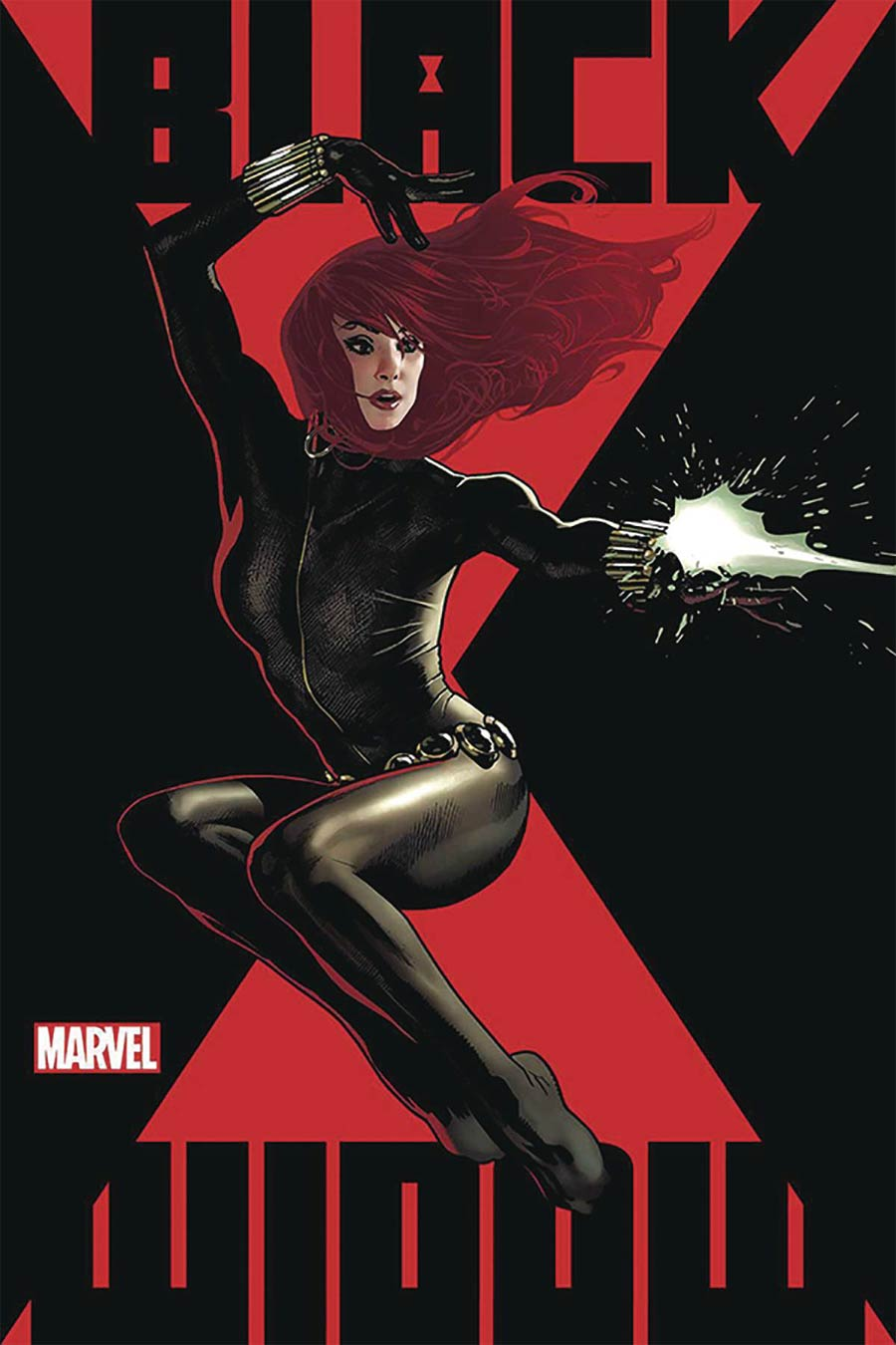 Black Widow Vol 8 #1 Cover K DF Signed By Adam Hughes