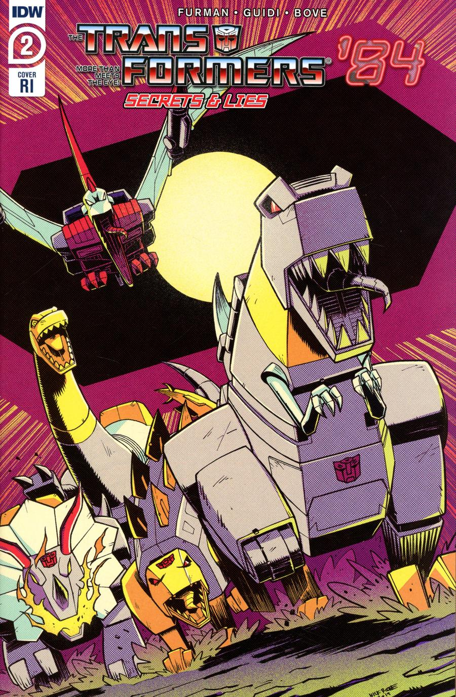 Transformers 84 Secrets And Lies #2 Cover C Incentive Nick Roche Variant Cover