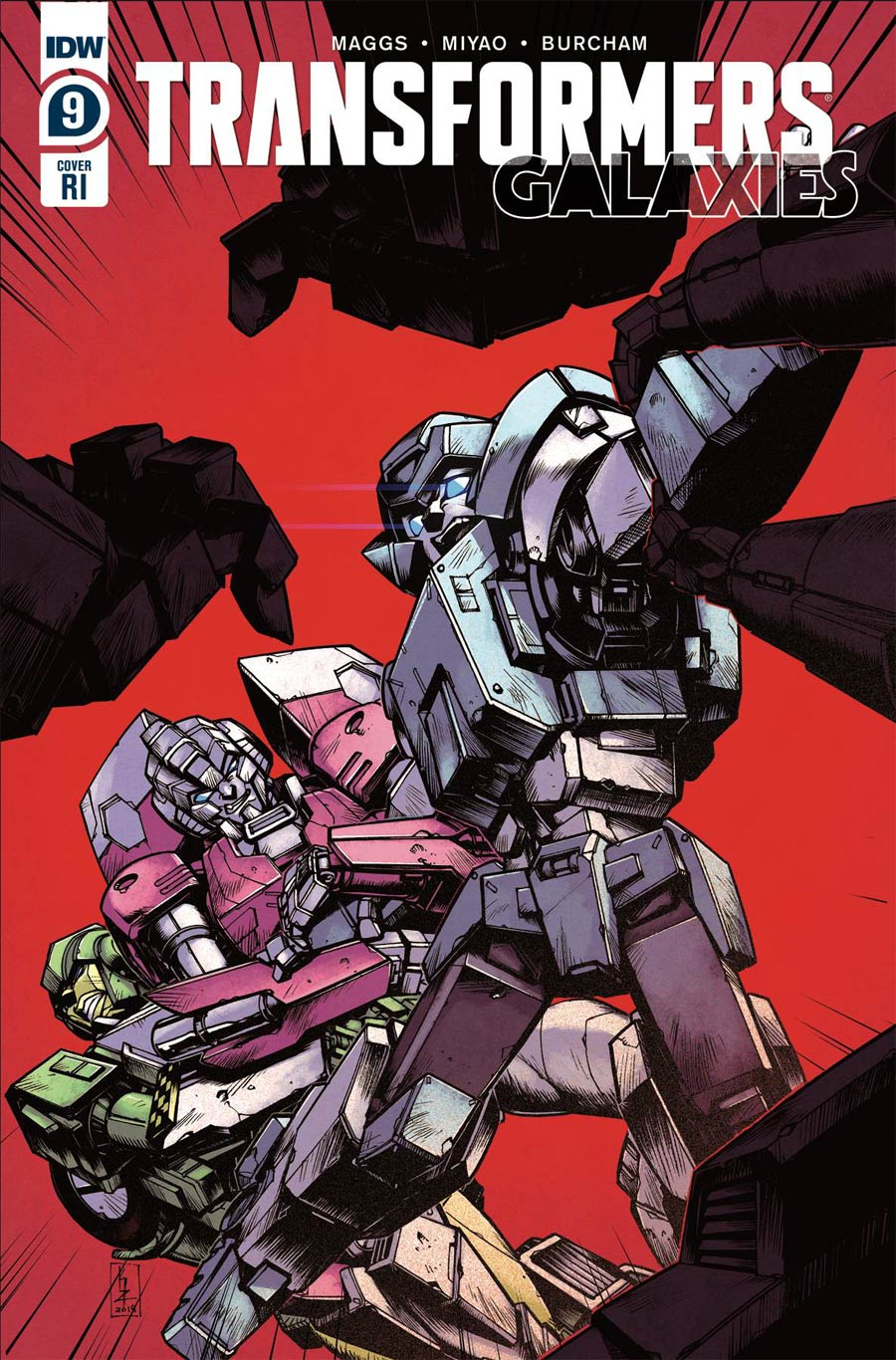 Transformers Galaxies #9 Cover C Incentive Kei Zama Variant Cover