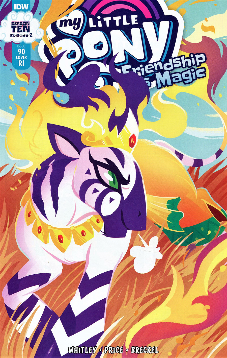 My Little Pony Friendship Is Magic #90 Cover C Incentive JustaSuta Variant Cover