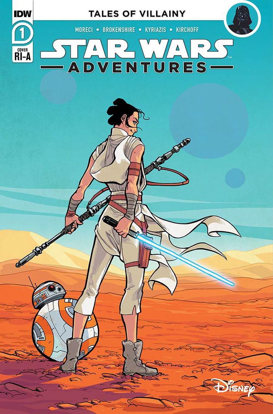 Star Wars Adventures Vol 2 #1 Cover C Incentive Ilias Kyriazis Variant Cover
