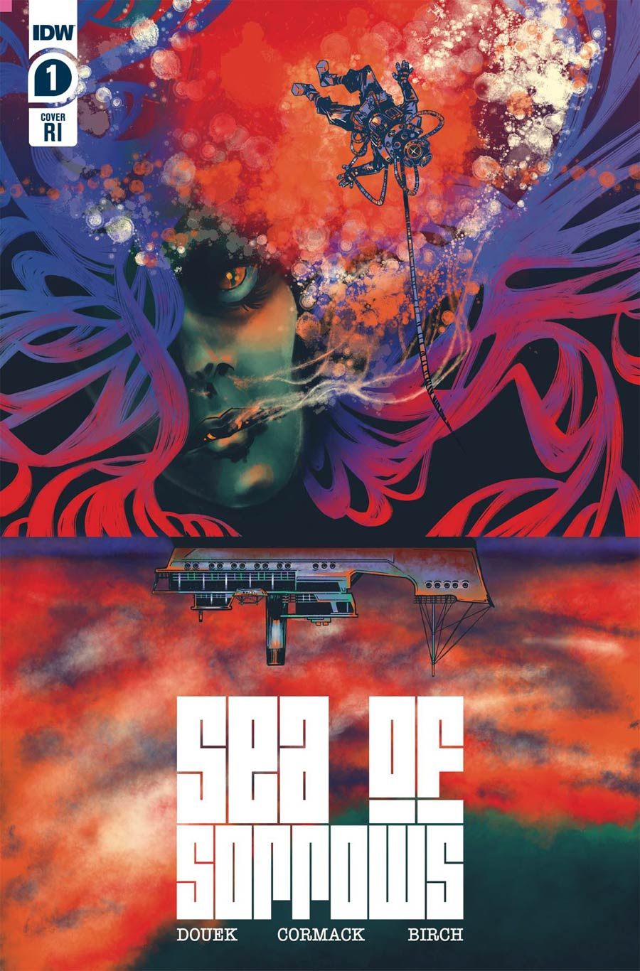 Sea Of Sorrows #1 Cover B Incentive Katie Sawatsky Variant Cover