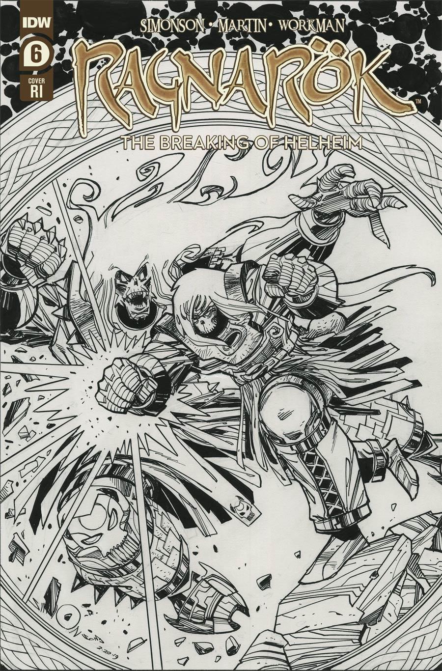 Ragnarok Breaking Of Helheim #6 Cover B Incentive Walter Simonson Variant Cover