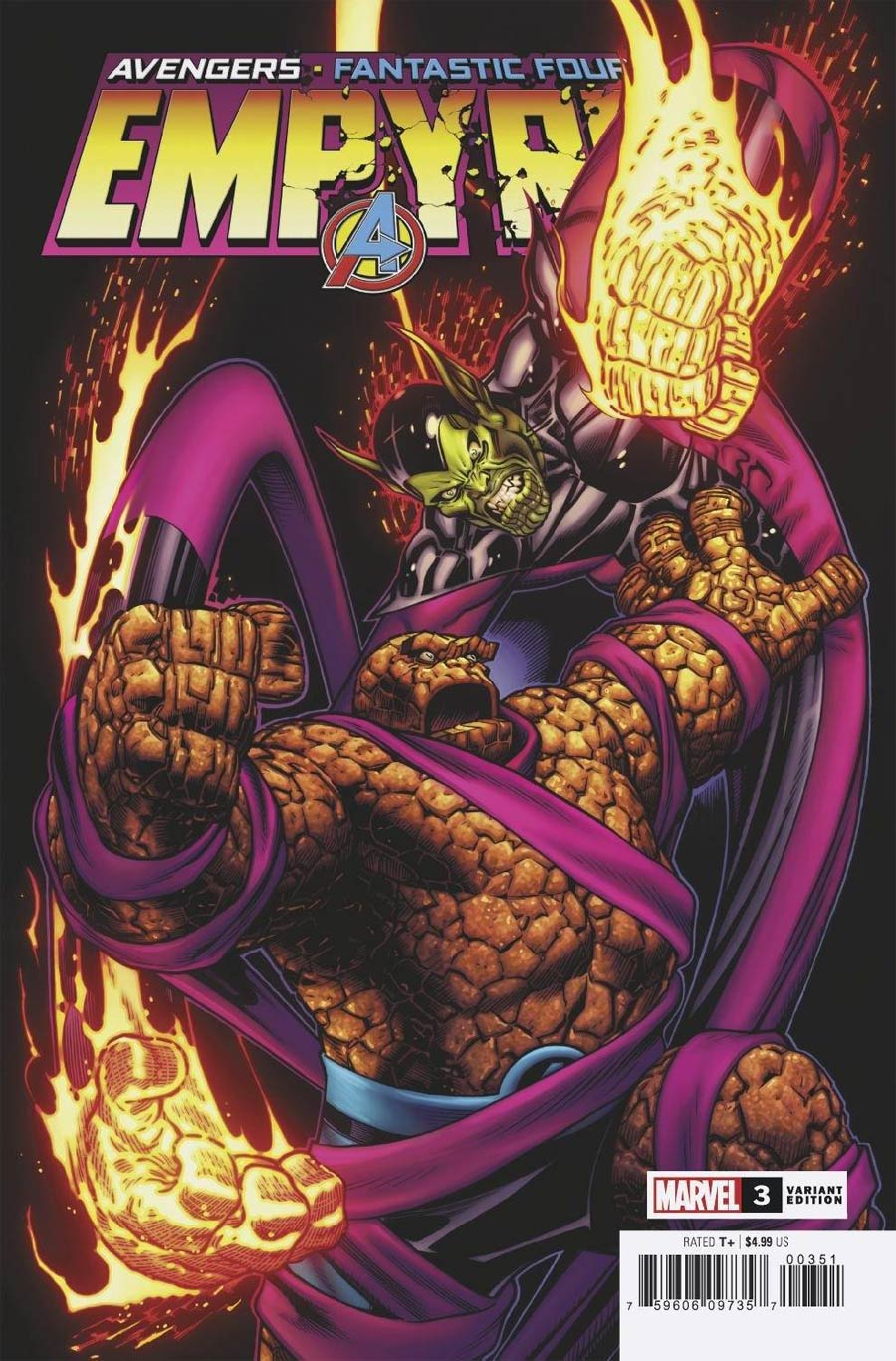 Empyre #3 Cover F Incentive Ed McGuinness Variant Cover
