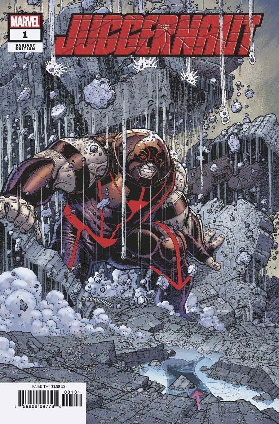 Juggernaut #1 Cover D Incentive Nick Bradshaw Variant Cover