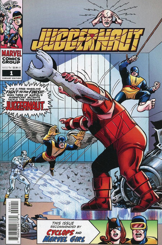 Juggernaut #1 Cover E Incentive Werner Roth Hidden Gem Variant Cover