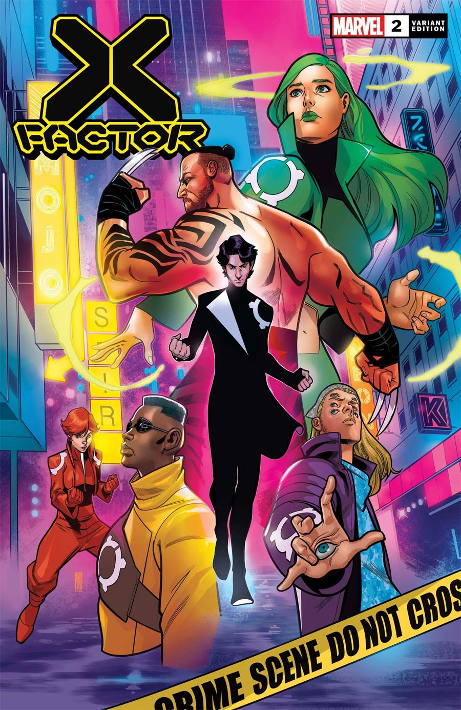 X-Factor Vol 4 #2 Cover C Incentive Paco Medina Variant Cover