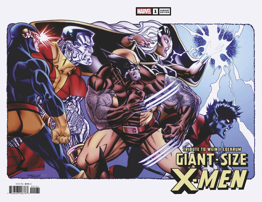 Giant-Size X-Men Tribute To Len Wein & Dave Cockrum One Shot Cover D Incentive Ed McGuinness Wraparound Variant Cover