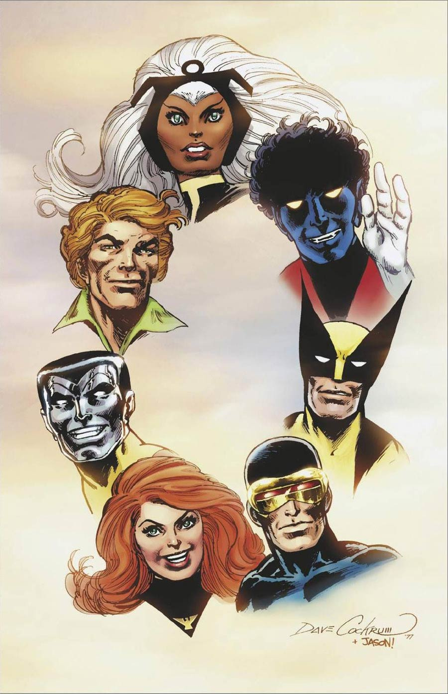 Giant-Size X-Men Tribute To Len Wein & Dave Cockrum One Shot Cover E Incentive Dave Cockrum Hidden Gem Virgin Cover