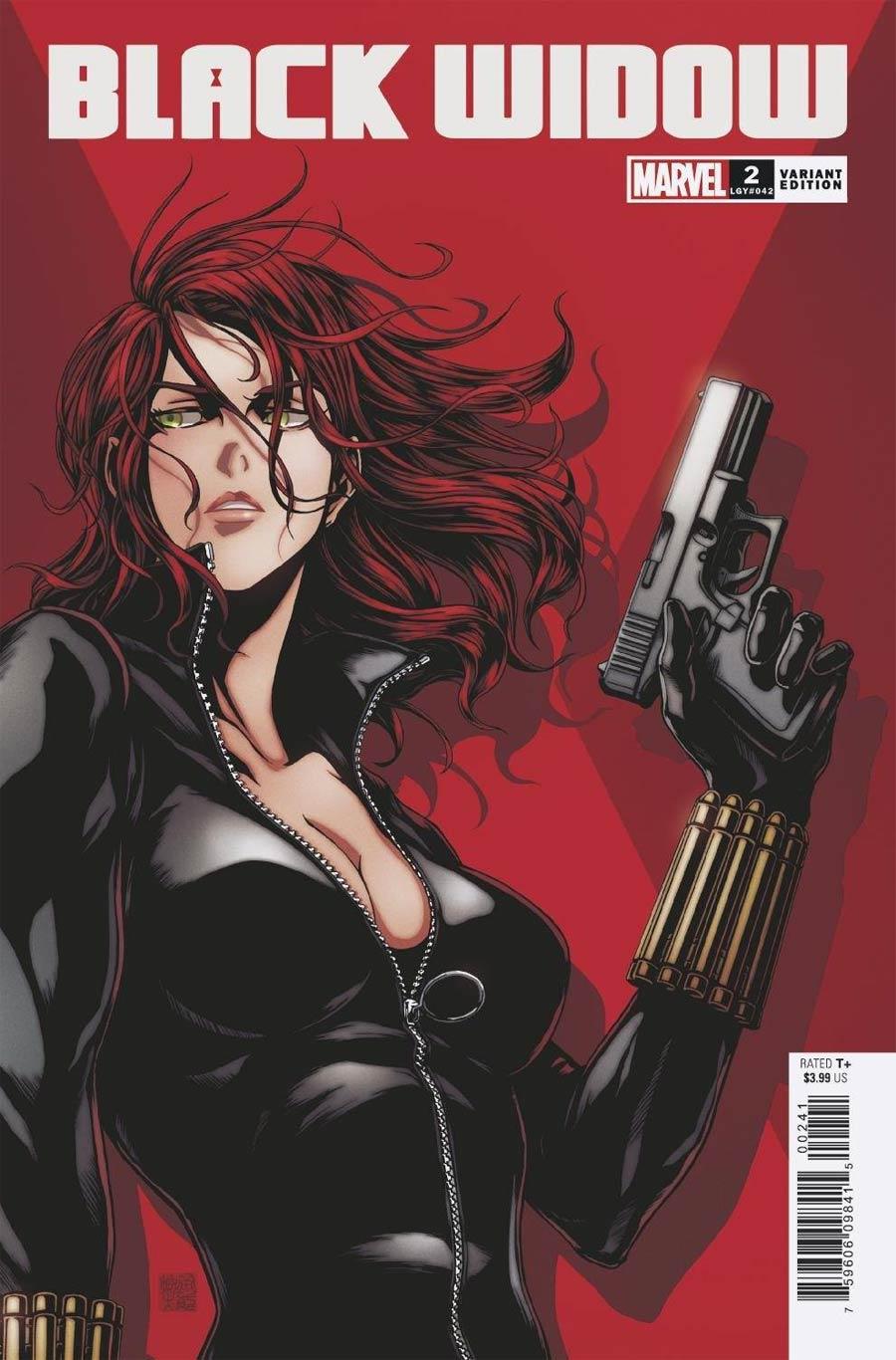 Black Widow Vol 8 #2 Cover G Incentive Takashi Okazaki Variant Cover