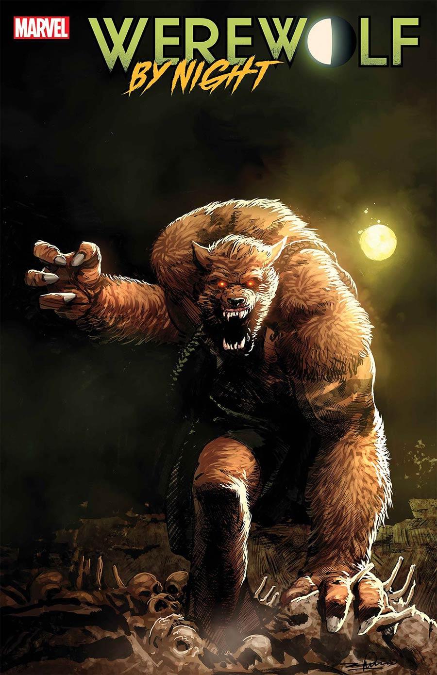 Werewolf By Night Vol 3 #2 Cover B Incentive Gerardo Zaffino Variant Cover