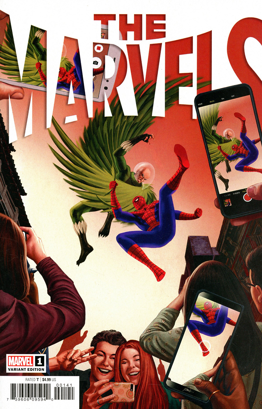 The Marvels #1 Cover C Incentive Steve Epting Variant Cover