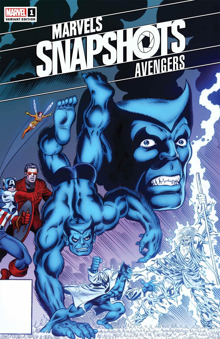 Avengers Marvels Snapshots #1 Cover C Incentive George Perez Hidden Gem Variant Cover