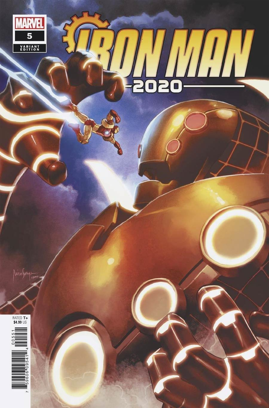 Iron Man 2020 #5 Cover E Incentive Mico Suayan Variant Cover