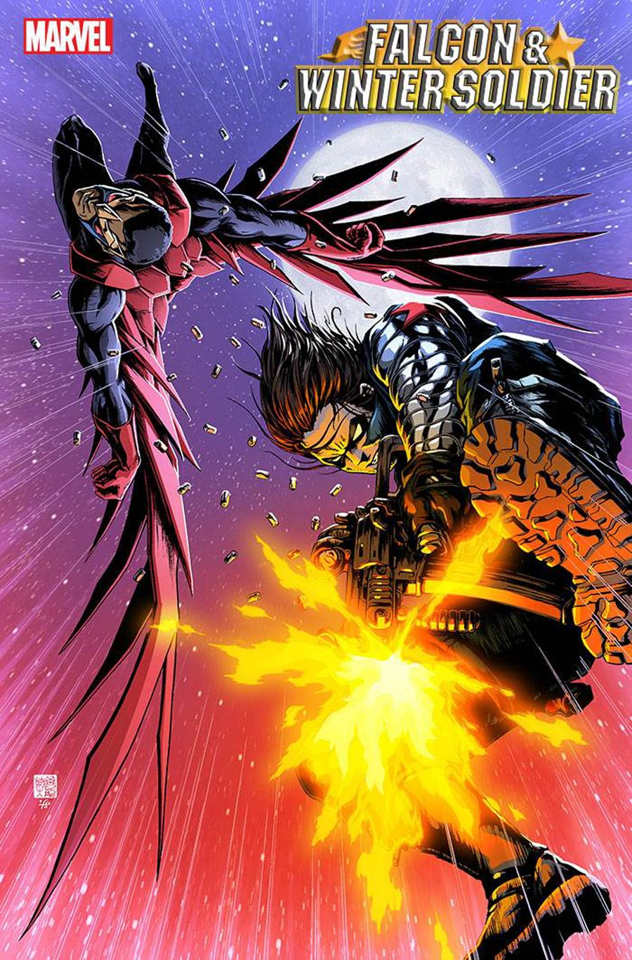 Falcon & Winter Soldier #4 Cover B Incentive Takashi Okazaki Variant Cover