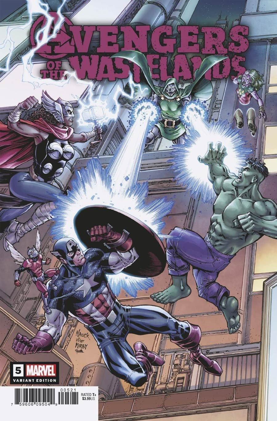 Avengers Of The Wastelands #5 Cover B Incentive Todd Nauck Variant Cover