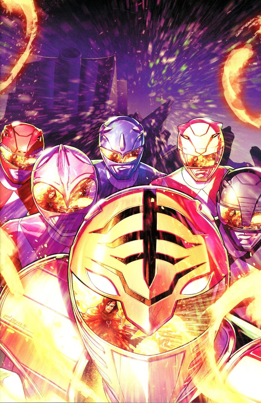 Mighty Morphin Power Rangers (BOOM Studios) #51 Cover D Incentive Jamal Campbell Variant Cover