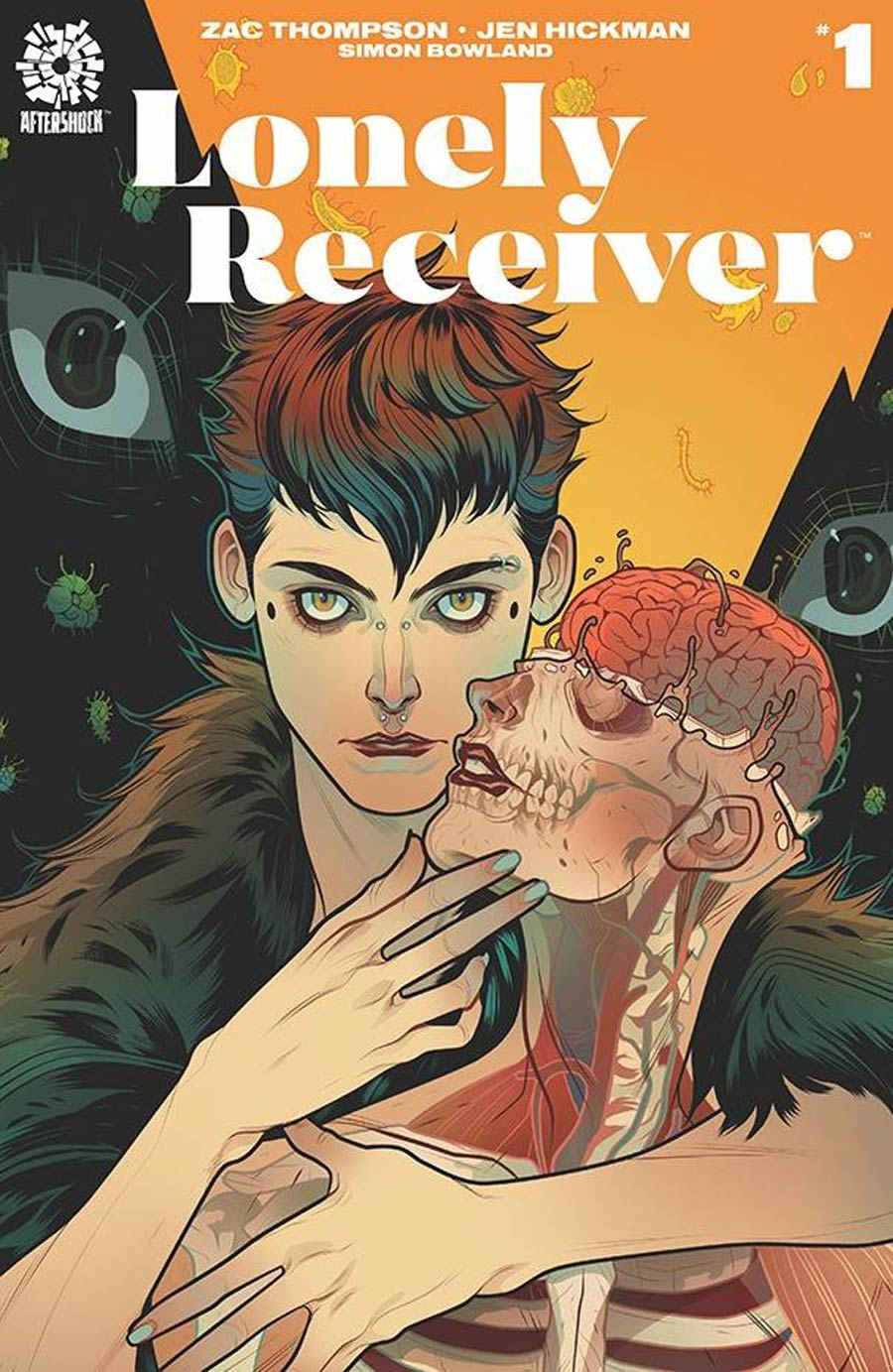 Lonely Receiver #1 Cover B Incentive Elizabeth Torque Variant Cover