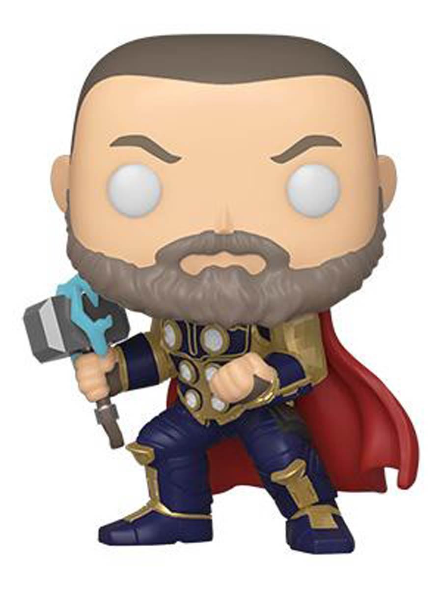 POP Marvel Marvels Avengers Game Thor Stark Tech Suit Vinyl Bobble Head
