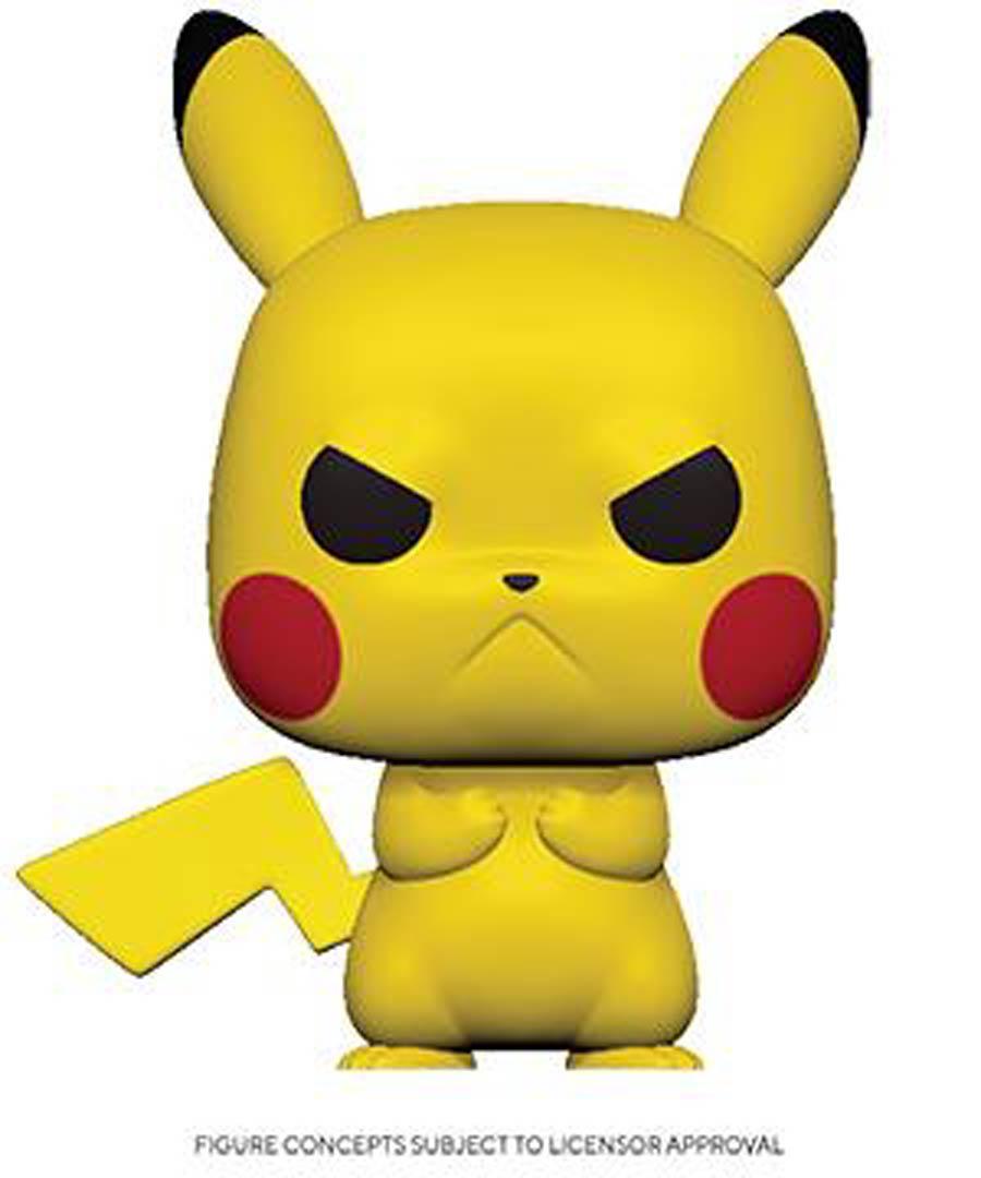 POP Games Pokemon Grumpy Pikachu Vinyl Figure