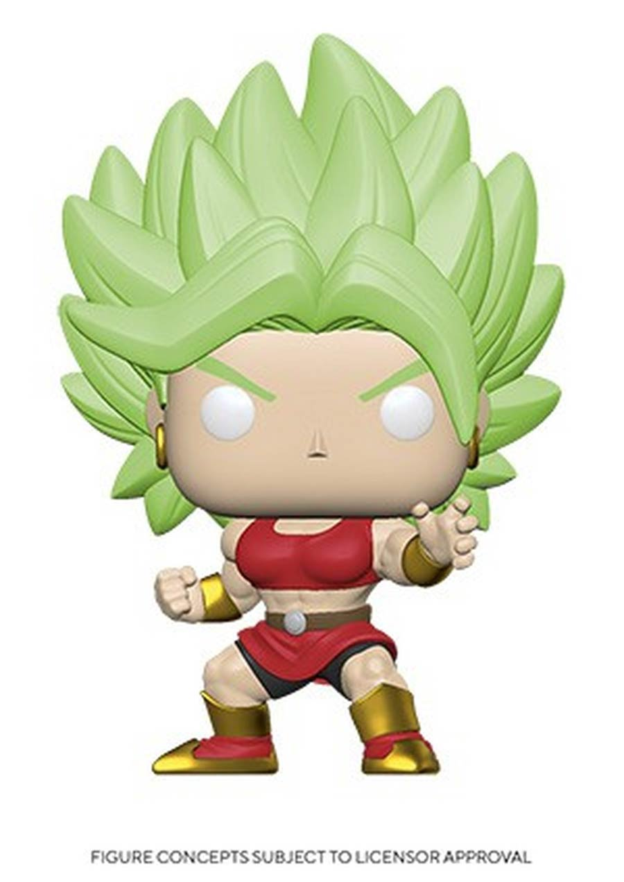 POP Animation Dragon Ball Super Super Saiyan Kale Vinyl Figure
