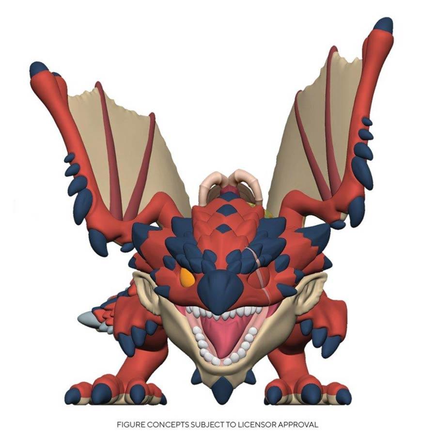 POP Animation Monster Hunter Ratha Vinyl Figure