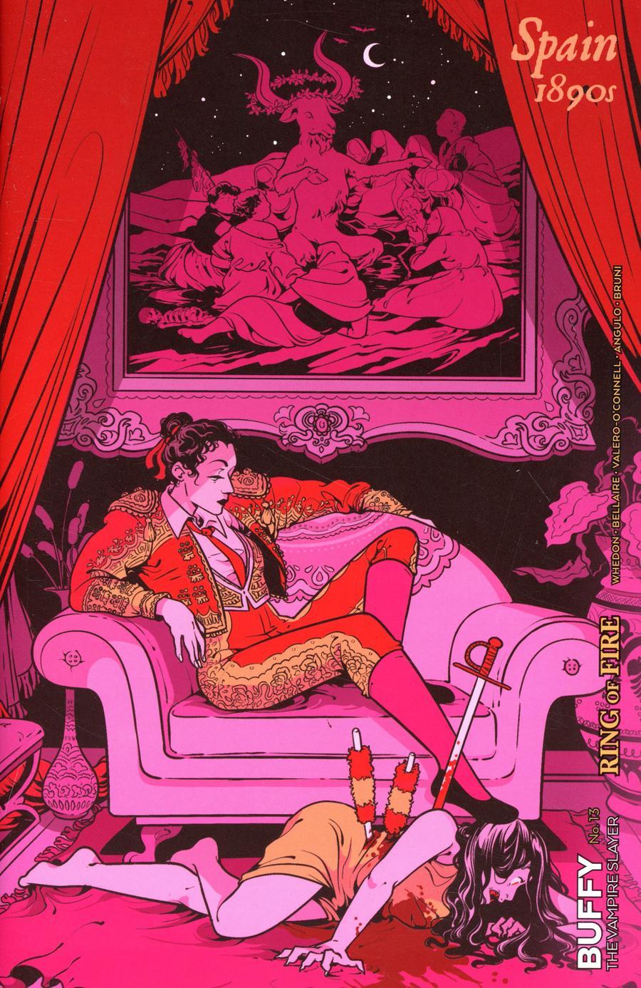 Buffy The Vampire Slayer Vol 2 #13 Cover D Variant Rosemary Valero-OConnell Chosen Ones Cover