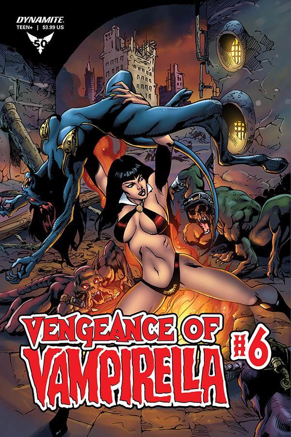 Vengeance Of Vampirella Vol 2 #6 Cover E Variant Roberto Castro Cover