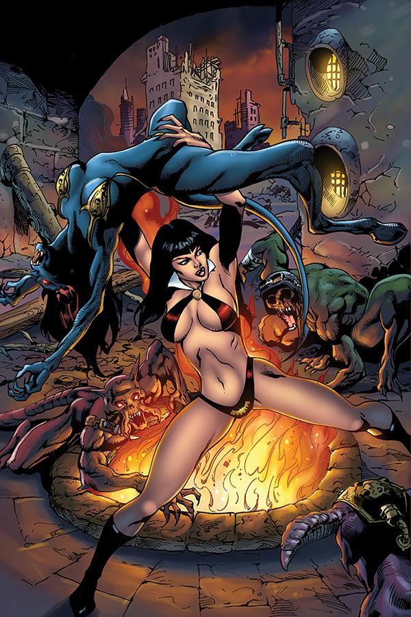 Vengeance Of Vampirella Vol 2 #6 Cover F Incentive Roberto Castro Virgin Cover