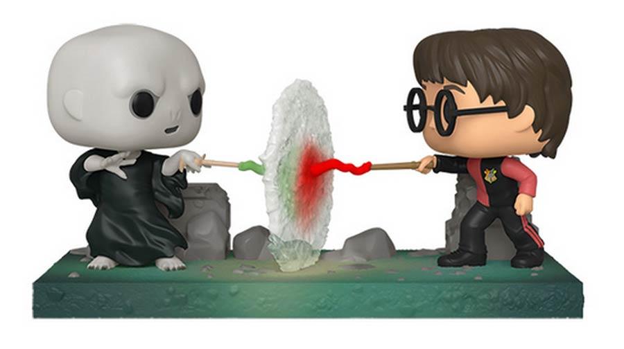 POP Moment Harry Potter Harry Potter vs Voldemort Vinyl Figure