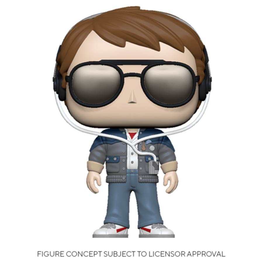 POP Movies Back To The Future Marty With Glasses Vinyl Figure