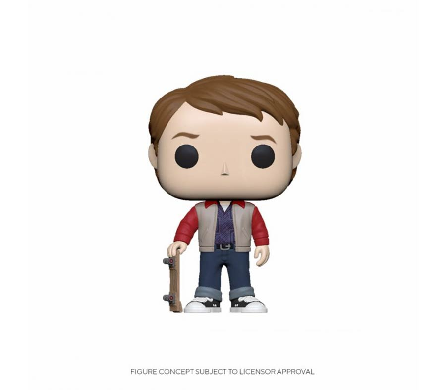 POP Movies Back To The Future Marty 1955 Vinyl Figure