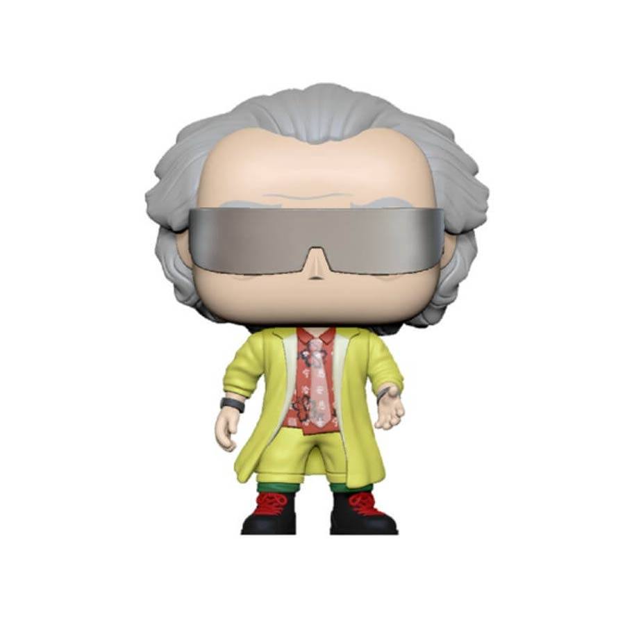 POP Movies Back To The Future Doc 2015 Vinyl Figure