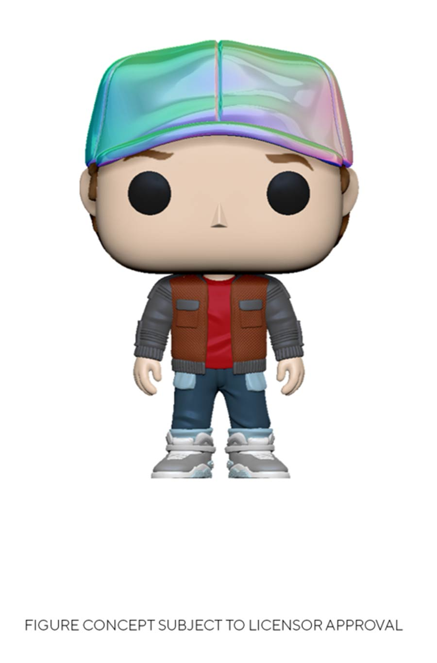POP Movies Back To The Future Marty In Future Outfit Vinyl Figure