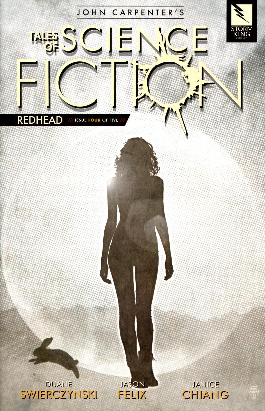 John Carpenters Tales Of Science Fiction Redhead #4 Cover B Gray