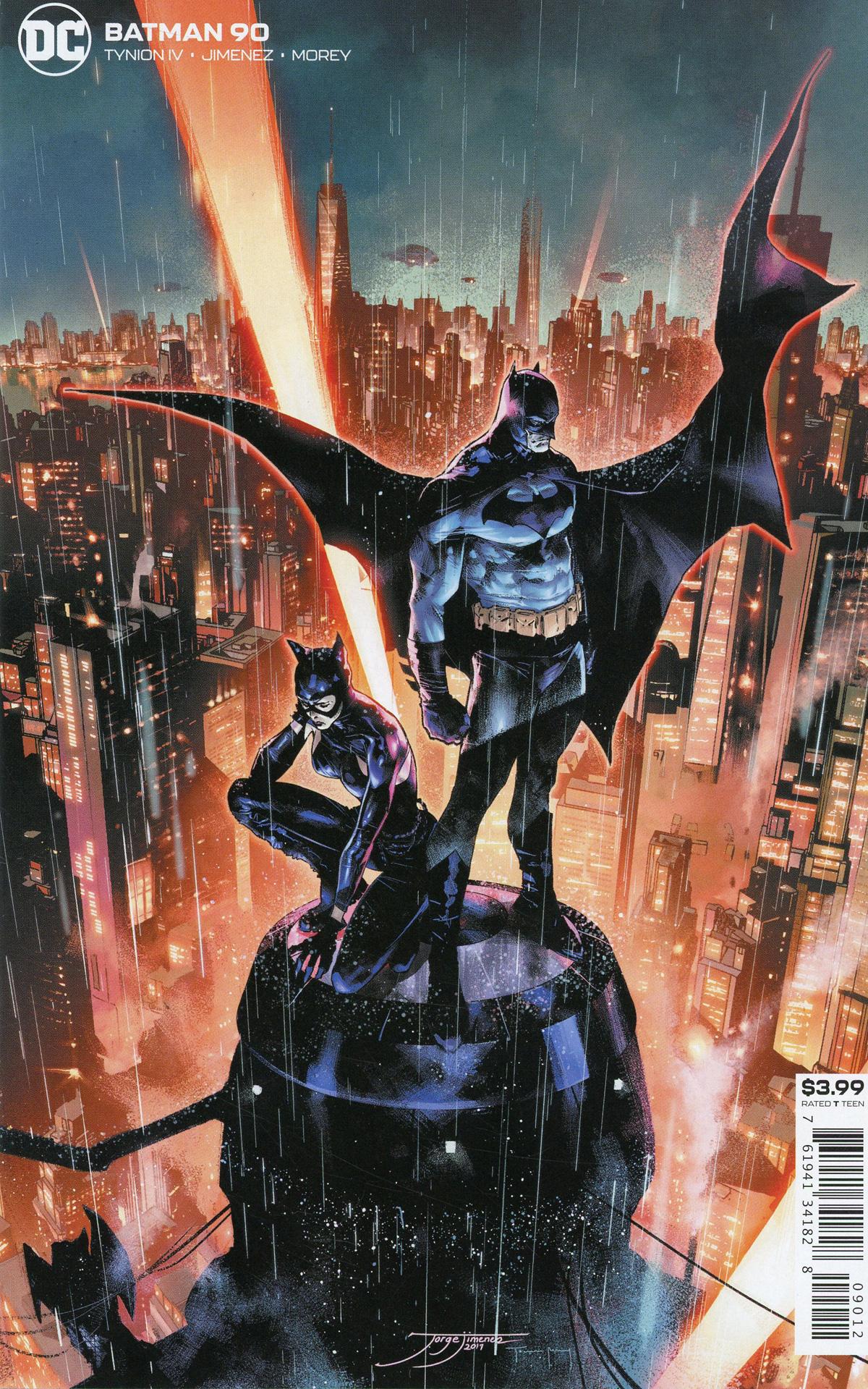 Batman Vol 3 #90 Cover C 2nd Ptg